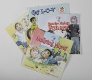 Silly Gilly Gil book series by local author Abue, from The Toy Store, 936 Massachusetts St.