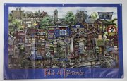 """Pubs of Lawrence,"" from Framewoods Gallery,  819 Massachusetts St."