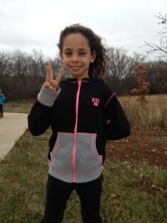 Michelle completes her 3rd marathon this year. What?!!