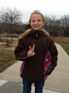 Tatum completes her 2nd marathon! Dang!