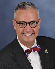 Tim Caboni is Kansas University's vice chancellor of public affairs. Photo courtesy of KU.