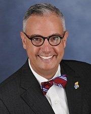 Tim Caboni is Kansas University's vice chancellor of public affairs. Photo courtesy of KU.
