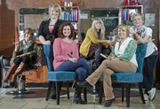 Color Studio will host a Cut-A-Thon Monday to raise money for a wig fund to help cancer patients. Stylists from left are Emily Hoehn, Michaela Smith, Erin Banman, Penny Strasser-Tuckel, owner LaVonna McAlister and Amy Han.