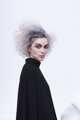 St. Vincent will be back in Lawrence, this time with lavender hair, at Liberty Hall, 644 Massachusetts St., on March 31. Her new self-titled album comes out in February.