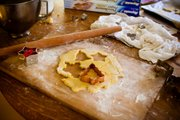 Whipping up some holiday sugar cookies is a fun family activity, even if it tends to be a tad messy.