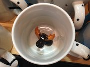 Cheer Up Cups, at Phoenix Gallery, 825 Massachusetts St., $19.50 each.