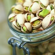 References to pistachios date back to 6,000 B.C. and are even mentioned in the Bible. The shells and fruit are sometimes dyed red or green.