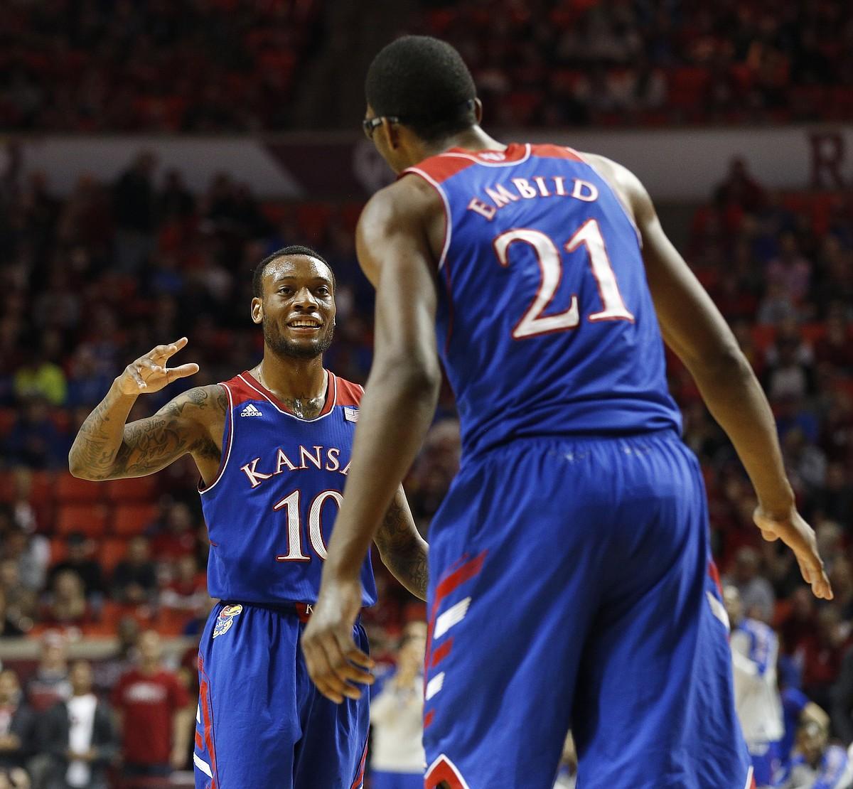 Kansas basketball v. Oklahoma | KUsports.com