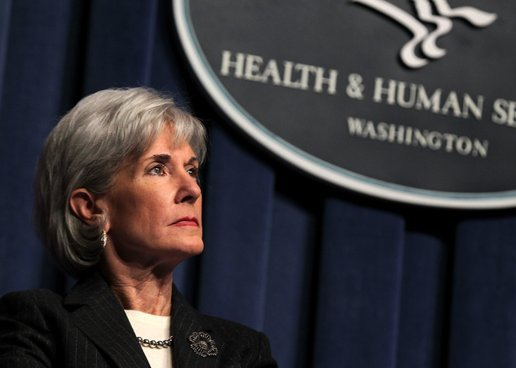 Secretary of the U.S. Department of Health and Human Services, and former Kansas governor, Kathleen Sebelius