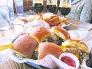 Burger time. Find Dempsey's at 623 Vermont St., 856-5460, dempseysburgerpub.com.