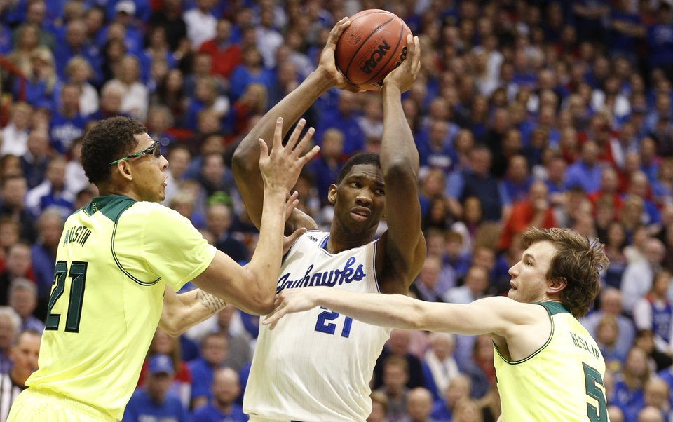 Embiid, KU basketball, Jayhawk Basketball