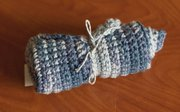 Handcrafted washcloths, $4.25, at Essential Goods, 825 Massachusetts St.