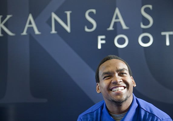 Kansas University safety Anthony Smithson? No, the junior-college transfer prefers to be called 'Fish,' a nickname given to Smithson by his grandmother when he was an infant.