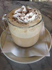 Kahlua latte, $4, at Milton's.