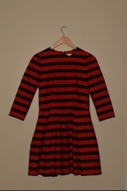 A striped dress from Gap