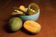Sweet n' spicy mango-avocado wrap