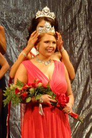 Donna Hoegler, 33, of Tonganoxie, was crowned Mrs. Kansas on March 1 at the Folly Theater in Kansas City, Mo. She'll appear in the Lawrence St. Patrick's Day parade this weekend.