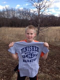 Nice running, Cody!