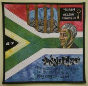 "Students from Marla Jackson&squot;s textile academy created a quilt titled ""The Mandela Project"", and they are raising money so some of them can travel to South Africa where they want to submit the quilt for an international quilt festival in July in Johannesburg."