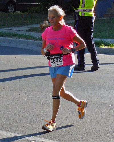 Ellen Young has helped countless individuals as a longtime leader at Red Dog's Dog Days community workouts and a volunteer coordinator for numerous races in Lawrence and the region. Uploaded