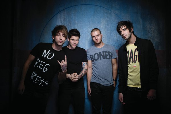 Contributed Photo: Pop-punk band All Time Low will play at Granada, 1020 Massachusetts St., this Tuesday at 8 p.m. Tickets are $20 in advance, and $22 at the door.