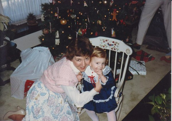 Mom and Me in 1986