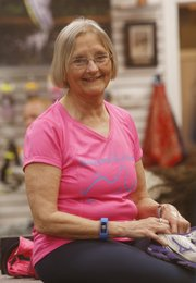 Lawrence resident Ellen Young was recently named the 2014 Douglas County Health Champion by the Lawrence-Douglas County Health Department for her contributions to the local running and fitness community.