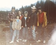 Pictured in this family photo are Ed Elmer Sr., wife Shirley Elmer, and their children, from left, Katherine Elmer (front), Jim Elmer, Mike Elmer and Ed Elmer Jr. This image was taken at their home near Oso, Wash., that was destroyed in the March 22 landslide.
