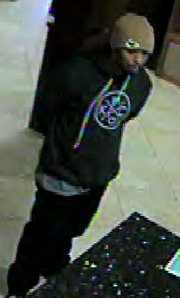 Suspect in April 5 robbery at Truity Credit Union, 3400 West Sixth St.