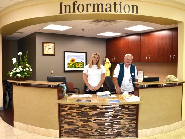 Chloe Hays, a Free State High School senior who is a Health Careers Pathways intern,
