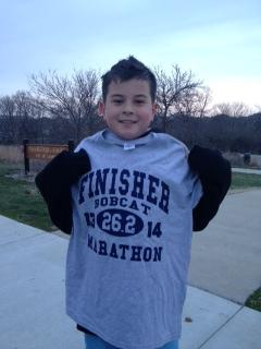 Nedim cruises in to claim his finisher shirt