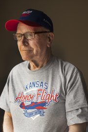 Lawrence resident John McCoin, 83, will fly to Washington D.C. on Friday, April 18, with a group of other veterans and students of Lyndon High School, courtesy of the Honor Flight Network, a non-profit that organizes trips for veterans to see national war memorials.