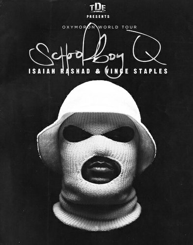 Contributed Photo: Schoolboy Q is performing at Liberty Hall on April 23 at 9 p.m. Tickets at $25-28.