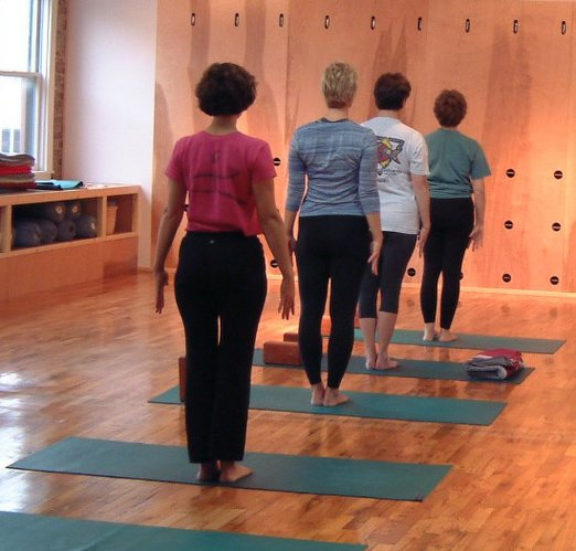 Mastering Tadasana (Mountain pose) can help you build a habit of focus that will improve your posture and also keep you from slumping in your daily life.