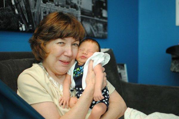 Grandma and Baby HJ