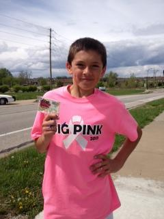 Real men wear pink AND run 3 marathons!