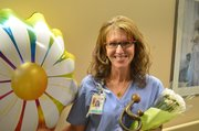 Coleen Walker, a registered nurse, was recognized with a DAISY Award for Exceptional Nursing at Lawrence Memorial Hospital this past year. She works at the Family Birthing Center at LMH.