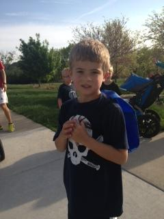 2nd marathon for Caden. Nice!