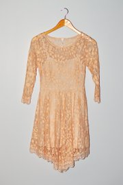 A lace dress from Nordstrom Rack