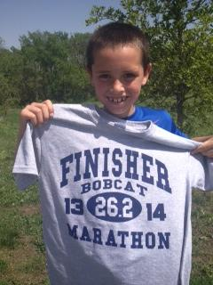 Way to run strong, Matthew!