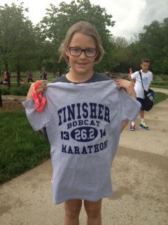 Nice running, Ashton!