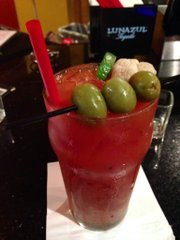 La Parrilla pineapple-ginger Bloody Maria