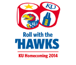 "The theme of Kansas University&squot;s 102nd Homecoming celebration is dubbed ""Rolling with the &squot;Hawks."""