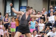 The fifth annual Busker Festival will be Aug. 22-24 in downtown Lawrence