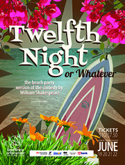 """Twelfth Night"" (or whatever) is one of the Summer Youth Theater productions at the Lawrence Arts Center"