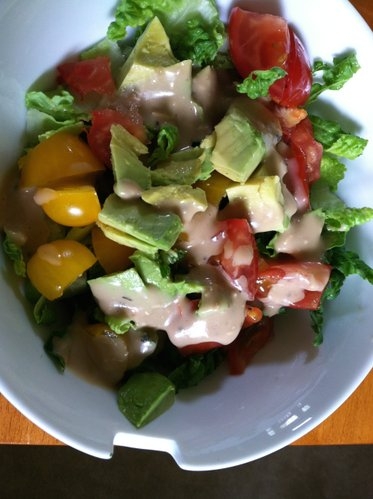 A simple, easy salad with a classic flavor.
