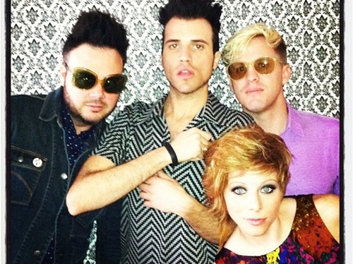 Neon Trees will play a free concert in Power and Light this Friday night.