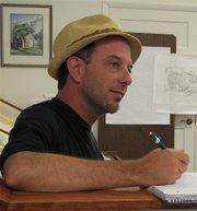 Lawrence artist Dave Loewenstein