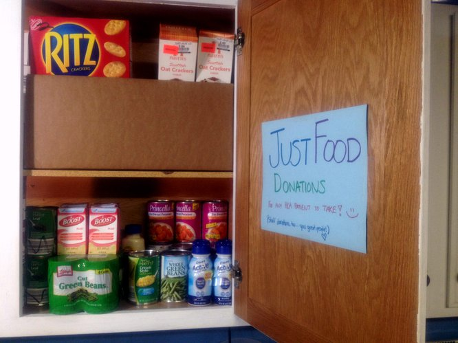 Emergency food supply for Health Care Access patients