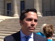 Greg Orman plans to file by petition to run as an independent candidate for U.S. Senate.